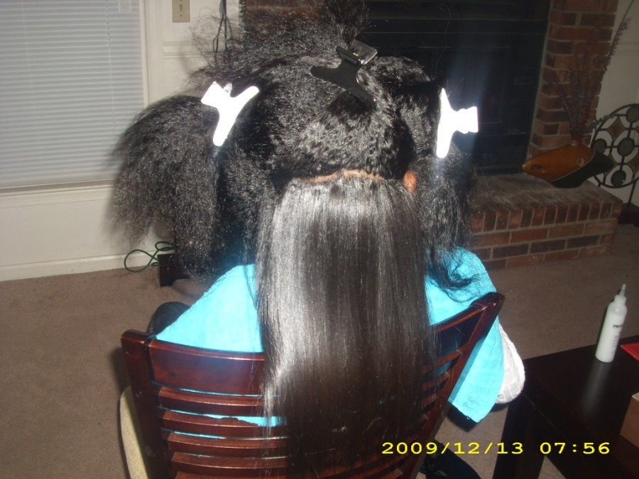 Dominican Blowout Damage Natural Hair